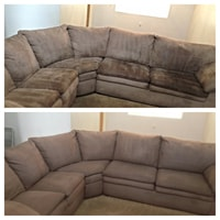 couch cleaning chicago before after