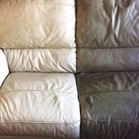 leather couch cleaning before after chicago